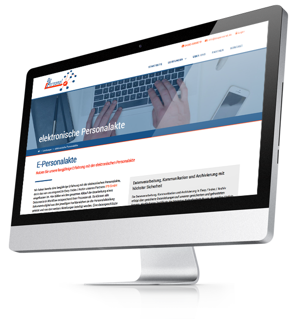 Webdesign-Referenz: Corporate Website DiaPersonal (3)