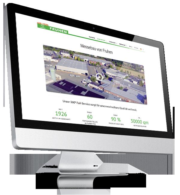 Webdesign-Referenz: Corporate Website Fruhen (1)
