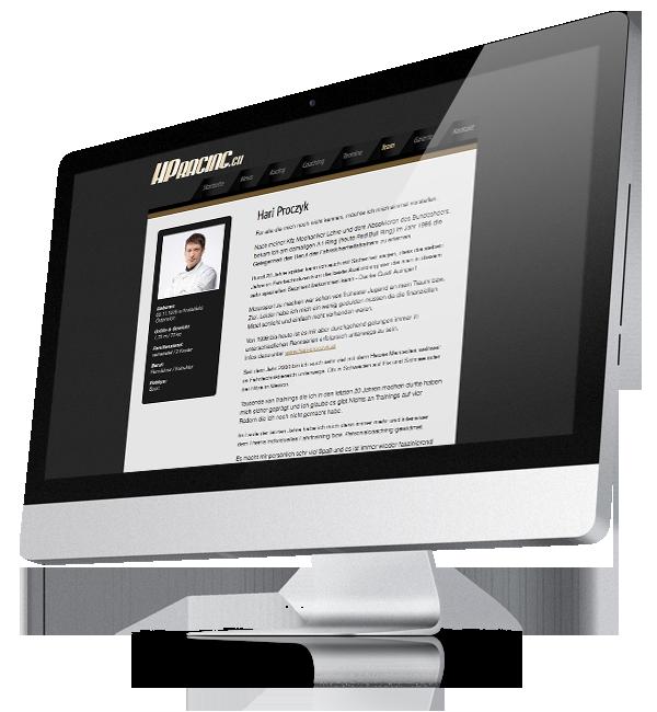 Webdesign-Referenz: Corporate Website HPRacing (3)