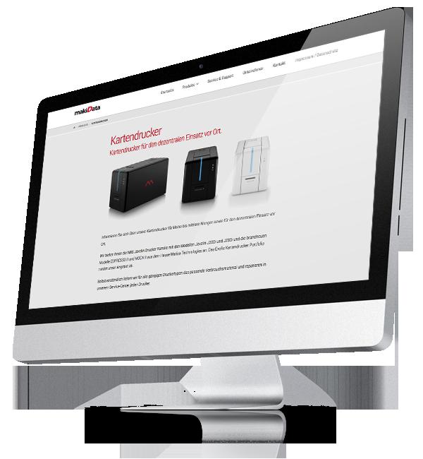 Webdesign-Referenz: Corporate Website MakiData (3)