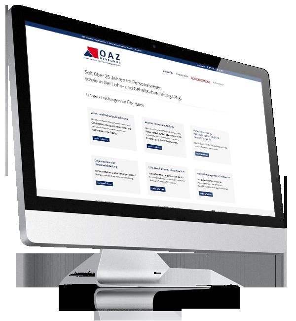 Webdesign-Referenz: Corporate Website MakiData (1)