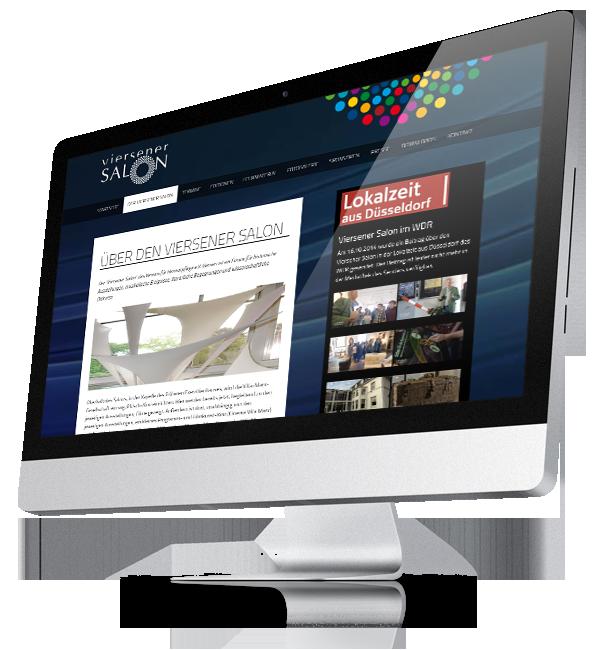 Webdesign-Referenz: Corporate Website Viersener Salon (3)