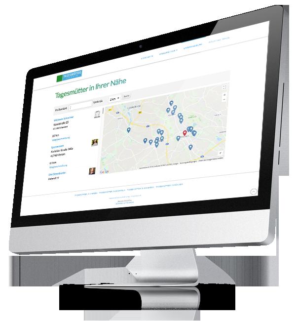 Webdesign-Referenz: Corporate Website Tagesmütter (3)